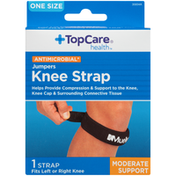 TopCare One Size Moderate Support Antimicrobial Jumpers Knee Strap