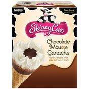 Skinny Cow Chocolate Mousse Ganache Ice Cream Cones