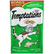 Temptations Seafood Medley Flavor Cat Care & Treats