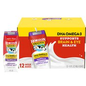 Horizon Organic 1% Lowfat UHT DHA Omega-3 Vanilla Milk