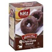 Katz Donuts, Gluten Free, Glazed, Chocolate
