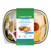 Home Chef Oven Kit Chili-Lime Enchilada Chicken With Red Peppers, Corn, And Black Beans