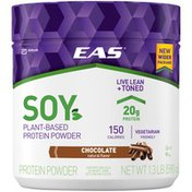 EAS Chocolate Soy Plant-Based EAS Soy Plant-Based Protein Powder Chocolate Powder Canister