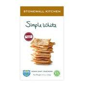 Stonewall Kitchen Gluten Free Simple White Cracker