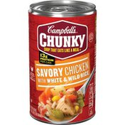 Campbell's® Chunky® Savory Chicken with White & Wild Rice Soup