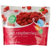 Food Club Unsweetened Red Raspberries