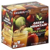 Green Mountain Fruit Brew, Hot Apple Cider, K Cup Pods