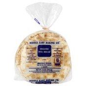 Middle East Bakery Bread, Organic Pita