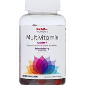 GNC Multivitamin, Gummy, Mixed Berry