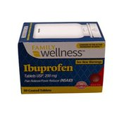 Family Wellness 200mg Ibuprofen Tablets