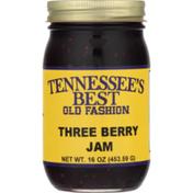Tennessee's Best Jam, Three Berry, Old Fashion, Jar