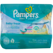 Pampers Baby Wipes Baby Fresh