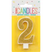 Unique Birthday Candle