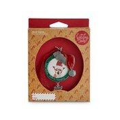 Holiday Santa Hat Ornament