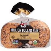 Dave's Killer Bread Million Dollar Bun Original Seeded Dave's Killer Bread Million Dollar Bun Original Seeded Organic Buns