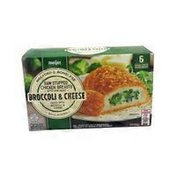 Meijer Broccoli & Cheese Raw Stuffed Chicken Breasts With Rib Meat