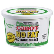 Cabot Vermont Style No Fat Cottage Cheese With Vitamin D