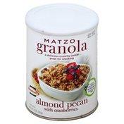 Manischewitz Granola, Matzo, Almond Pecan with Cranberries