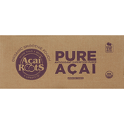 Acai Roots Puree, Organic, Unsweetened, Pure Acai