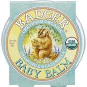 Badger Baby Balm, Chamomile & Calendula