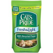 Cat's Pride Fresh & Light Scented Clumping Recycled Paper Cat Litter