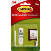 3M Command Picture Hanging Strips, Small
