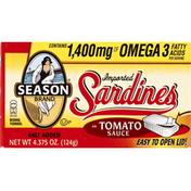Season Sardines, Imported, in Tomato Sauce
