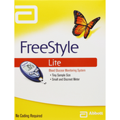 Free Style Blood Glucose Monitoring System