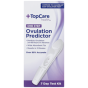 TopCare One Step Ovulation Predictor 7 Day Test Kit