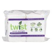 Twist Scrub Sponges - 6 CT