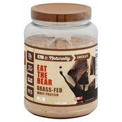 Eat The Bear Whey Protein, Grass-Fed, Chocolate