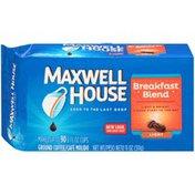 Maxwell House Breakfast Blend Light Roast Ground Coffee