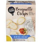 Culinary Tours Olive Oil & Sea Salt Baguette Crisps
