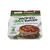Kitchen Accomplice Make A Wicked Juicy Burger, Trukey Stock Concentrate