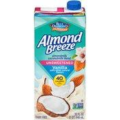 Almond Breeze Unsweetened Almond Coconut Vanilla Almondmilk