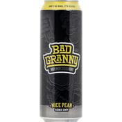 Bad Granny Hard Cider, Nice Pear, Semi-Dry