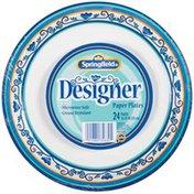 Springfield Designer 10.25 In Paper Plates
