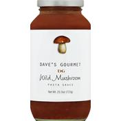 Dave's Gourmet Pasta Sauce, Wild Mushroom