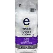 Ethical Bean Lush Medium Dark Roast Whole Bean Coffee - Organic - Fairtrade Certified