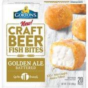 Gorton's Craft Beer Golden Ale Battered Fish Bites