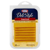 Kraft Cheese, Pasteurized Process, American Slices