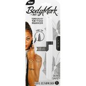 BodyMark Tattoo Marker, Temporary, Black