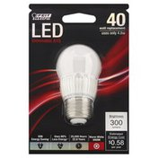 Feit Electric Bulb, 4.8 W, LED, Dimmable A15, Blister Pack