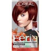 Feria Multi-Faceted Shimmering Colour 66 Very Rich Auburn Hair Color