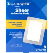 CareOne Adhesive 3X4 Sheer Pads