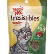 Meow Mix Treats for Cats, with Tuna & Shrimp, Crunchy