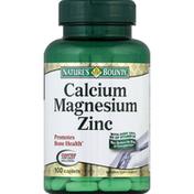 Nature's Bounty Calcium Magnesium Zinc, Caplets