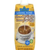 MimicCreme Cream Alternative, Unsweetened Original