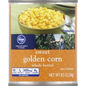 Kroger Golden Corn, Sweet, Whole Kernel