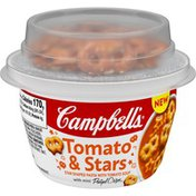 Campbell's® Tomato & stars soup with pretzels